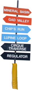 Snowbird_Trail_Signs