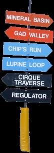 Snowbird_Trail_Signs