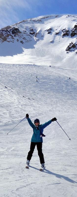 Snowbird Road to Provo Skimums Women Skiers 50's