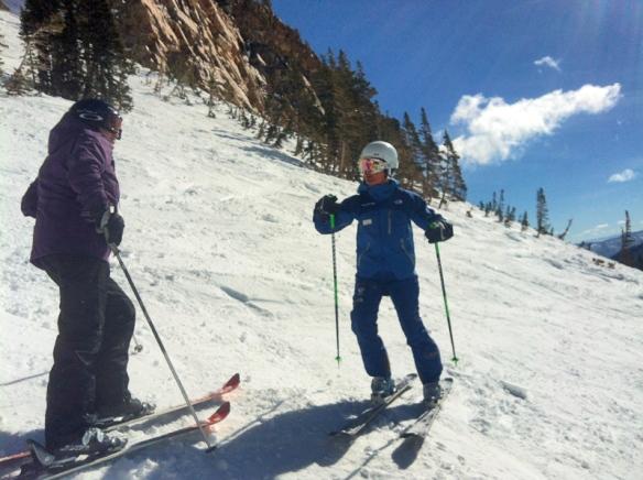 Snowbird Women Ski Lessons Skimums