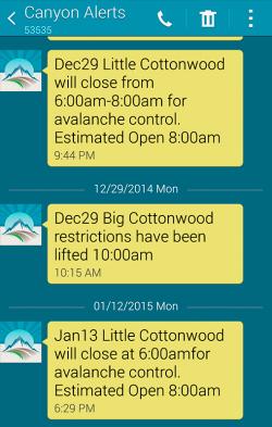 Canyon Alerts